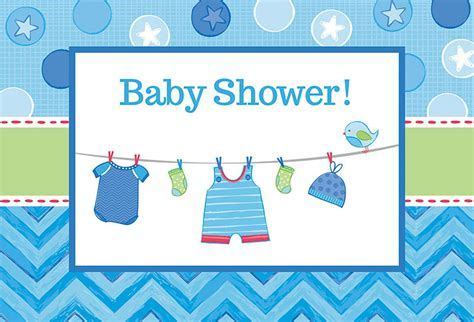 Baby Boy Baby Shower by Baby Shower Boy Shower With Invitations 8