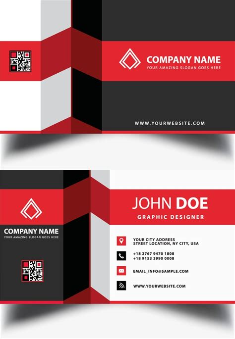 Business Card Design, Business Card, Card, Business Cards PNG and Vector for Free Download