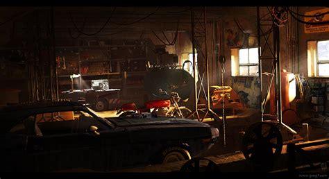 werkstatt wallpaper garage by gregmks on deviantart