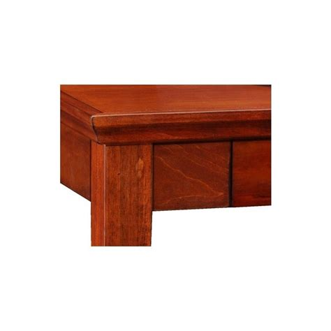 Cherry Laptop Desk Leick Furniture Westwood Cherry Laptop Writing Desk In Brown Cherry 87400