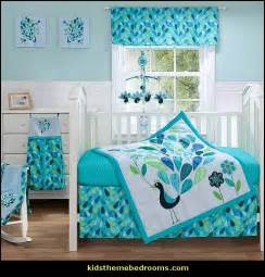 Blue Nursery Bedding Sets Decorating Theme Bedrooms Maries Manor Peacock Theme Decorating Peacock Theme Decor