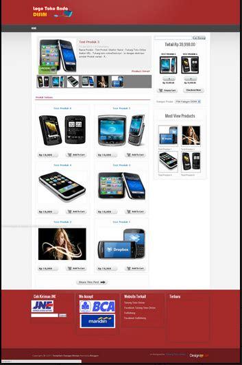 template blog toko online rupiah gratis 6 template toko online blogspot dengan shopping