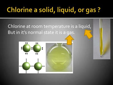 is chlorine a gas at room temperature ppt chlorine powerpoint presentation id 3456449