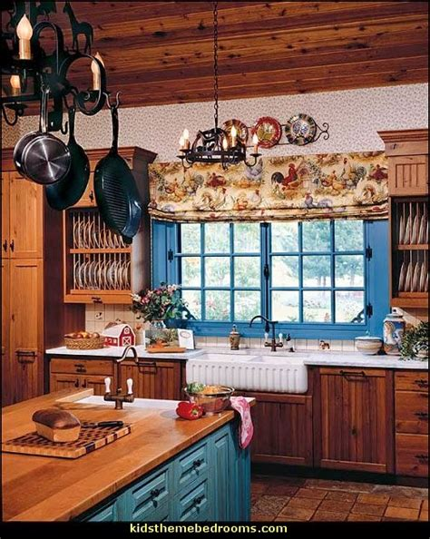 Country Themed Kitchen Ideas | decorating theme bedrooms maries manor french cafe