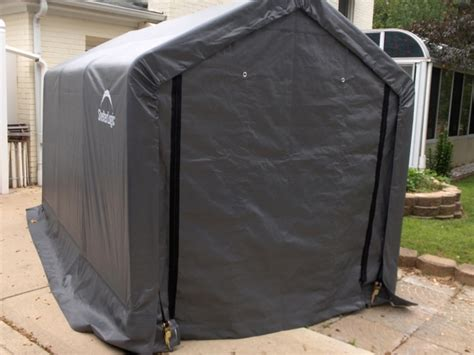 Storage Canopy Sheds by Shelterlogic 6 X 10 Instant Storage Shed Canopy 70403