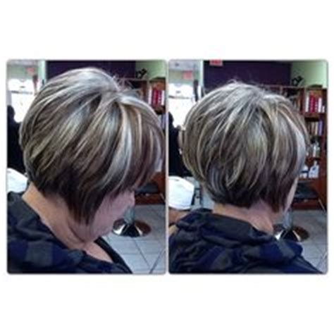 blend highlights into salt and pepper hair 1000 images about hair on pinterest gray hair gray and