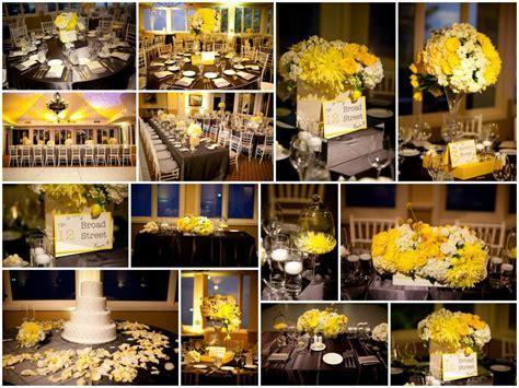 Gray & Yellow Decoration Ideas & Rentals   Sacramento