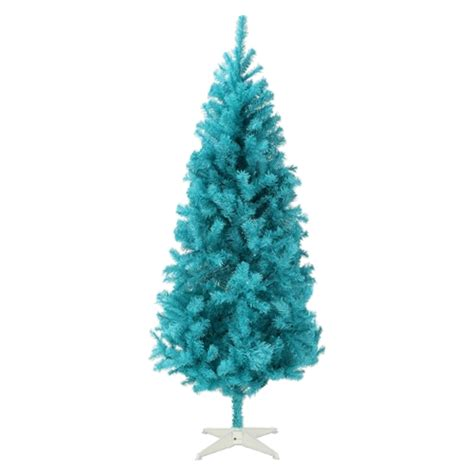 homegear 6ft turquoise artificial christmas tree the