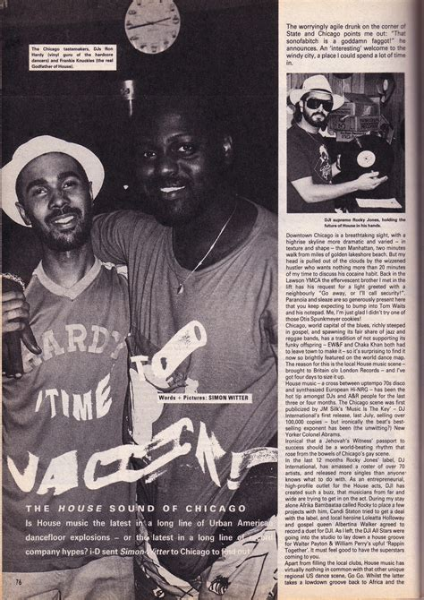 80s chicago house music 1986 magazine article the house sound of chicago music is my sanctuary