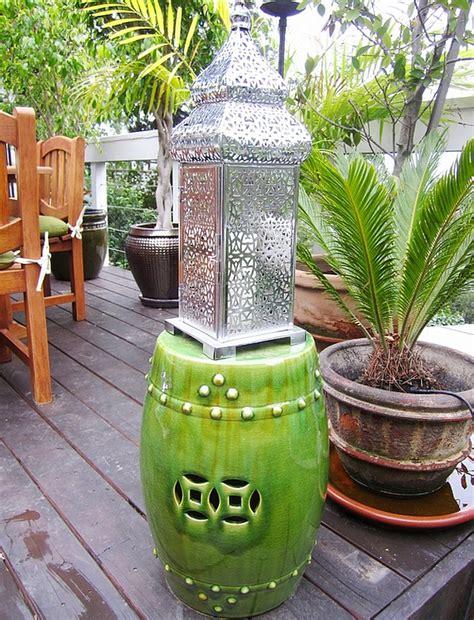 Garden Stool Decor Garden Stools Interior Design Ideas