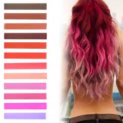 Best big red pink ombre hair dye rose tint ombre hair chalk set of