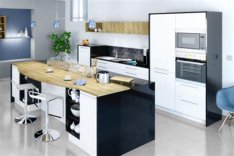 mod鑞e de cuisine avec ilot central modele de cuisine avec ilot central