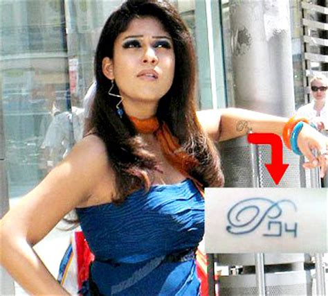 tattoo on nayanthara s hand nayanthara wants to remove prabhu tatoo from her skin