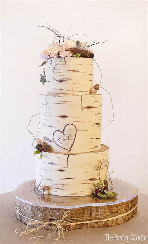 Wedding Cakes Daytona by Birch Wood Wedding Cake Custom Designed By The Pastry