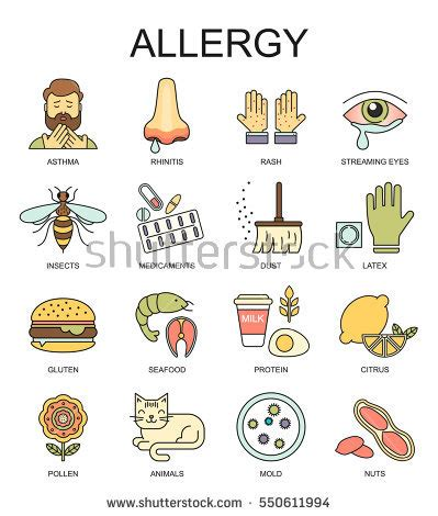 allergy symptoms allergies symptoms stock images royalty free images vectors
