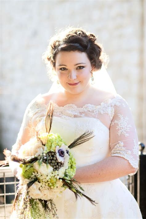 wedding hair for plus size brides flattering wedding dress silhouettes for plus size brides