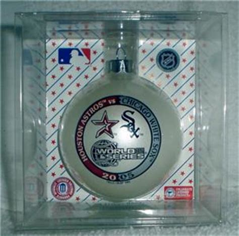 pack of 3 houston astros ornaments 2005 houston astros white sox world series ornament ebay