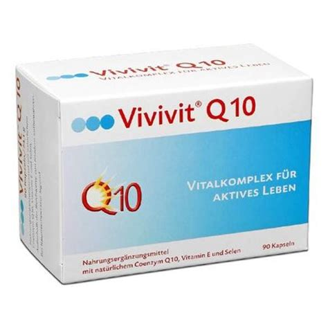 Nu Q Ten Vitamin Jantung Vivivit Q10 Capsules To Protect Call Walls With Vitamin E