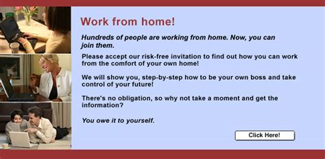 Free Work From Home by Home Based Employment