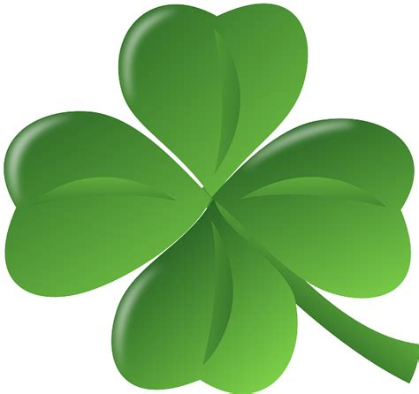 Clover Green clover green luck four leaf 183 free vector graphic on pixabay