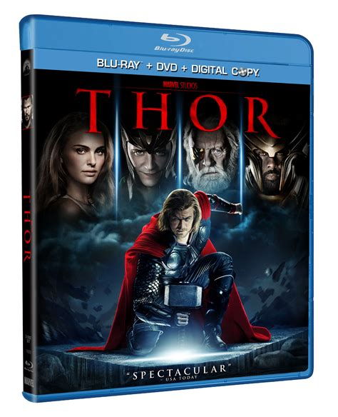 new film blu ray new thor blu ray dvd available september 13