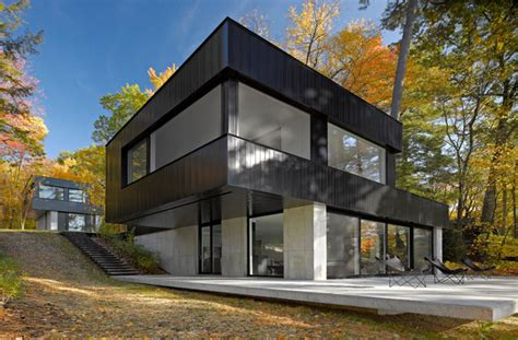 building a home in vermont cantilever house lakeside vt