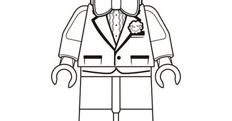 coloring page bruce wayne  lego batman