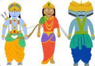 Diwali Puppets Templates by Diwali Images Rama Sita Hanuman Ravana Free Early