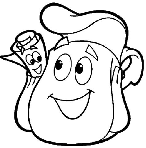 dora backpack coloring pages free backpack backpack coloring pages