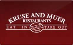 Sell Restaurant Com Gift Card - sell kruse muer restaurants gift cards raise