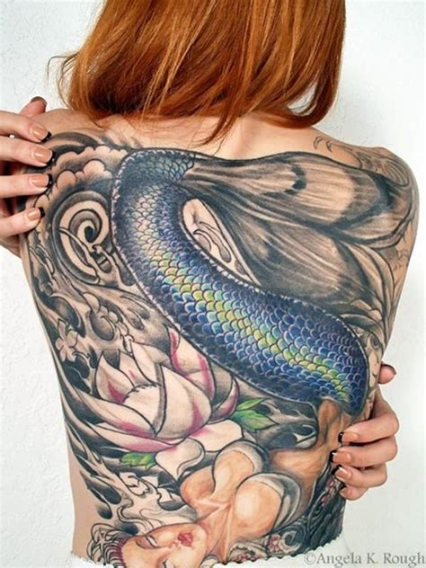66 beautiful mermaid tattoos designs and ideas for women