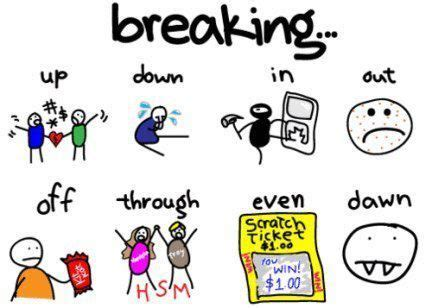 doodle verb meaning 17 best images about phrasal verbs on