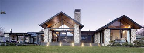 Fireplace Plans by Waimana Place House Wanaka Central Otago New Zealand