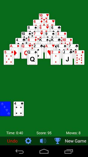 solitaire for android pyramid solitaire for android free