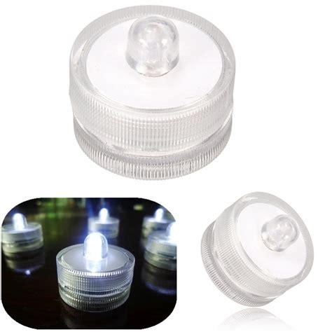 Waterproof Tea Lights by Led Flameless Flicker Waterproof Underwater Pool Decor Tea