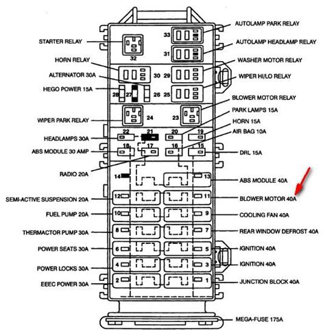 2000 mercury mountaineer fuse box diagram mercury mountaineer fuse box diagram free image wiring