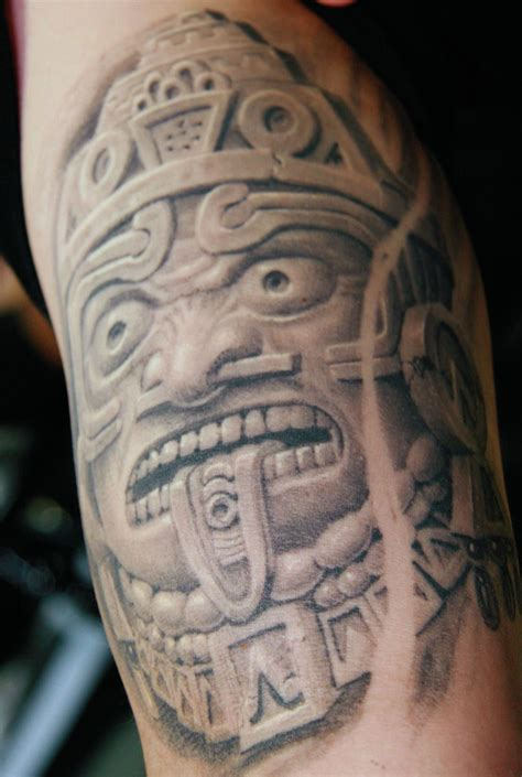 mexican aztec tattoos mexican tattoos and designs page 39