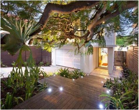 ide desain taman depan rumah tampak cantik  asri
