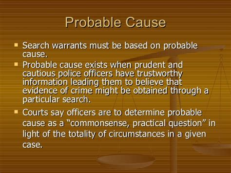A Search Warrant Must State Ch 15 Search And Seizure