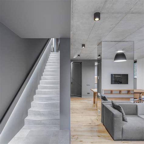 monochromatic house  vilnius  greywall