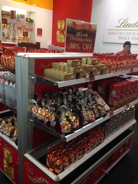 lindt christmas pop up store westfield bondi junction