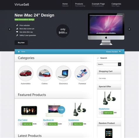 virtuemart template free 35 joomla virtuemart themes templates free premium