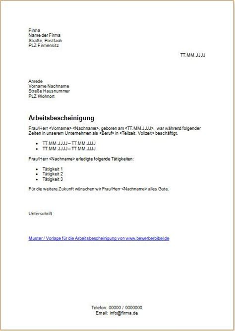 Muster Zuwendungsbestätigung Word Arbeitszeugnis Vorlage Word Various Vorlagen