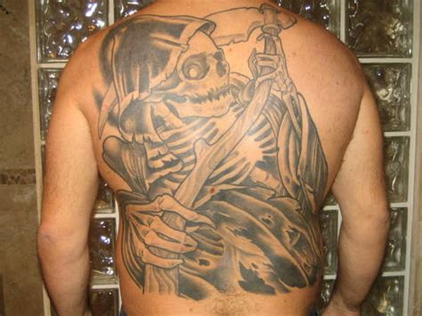reaper tattoos for men grim reaper images designs