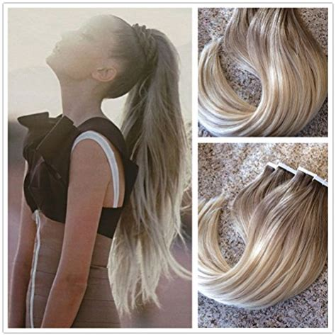 gray hair pieces for thinning hair moresoo 100 remy human hair ombre seamless tape in hair