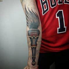 tattoo meaning torch traditional torch tattoo mogliana veneto treviso italy