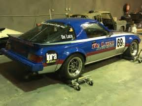 mazda rx7 improved production race car logged booked 13b
