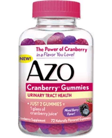 Azo Cranberry Pills Detox by Recommend Our Line Of Azo Products To Your Patients