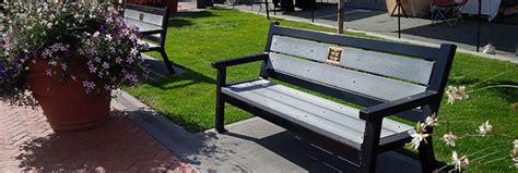 bench program memorial bench program city of trail bc