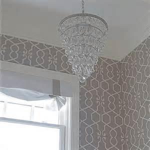 Gray Trellis Wallpaper gray trellis wallpaper design ideas